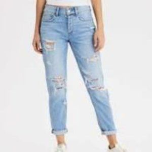 American Eagle Stretch Tomgirl Jeans Long
